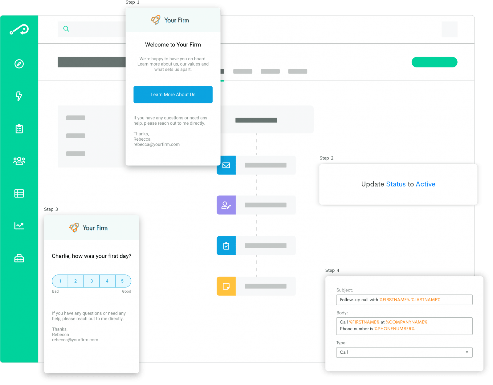 recruiting automation workflow